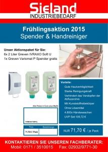 2015-02-04 - Frühlingsaktion - Handreiniger & Hautpflege - VS - klein