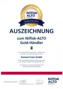 Nilfisk-ALTO Gold-Händler Sieland